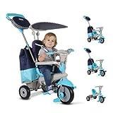 Indalchess Triciclo Smart Trike 4 en 1 Azul