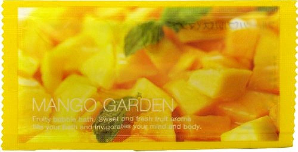 つぼみ耳選出するフルーツバブルバス マンゴーの香り 1P 12ml
