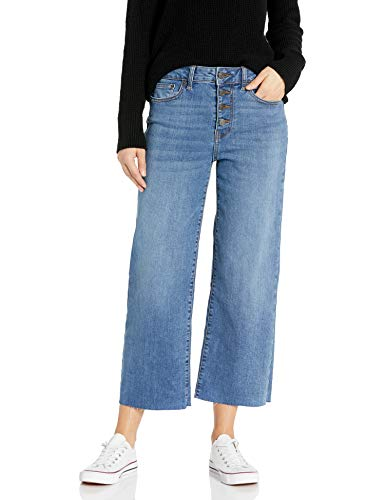 Goodthreads Coulotte jeans, Mid-Blue, 28
