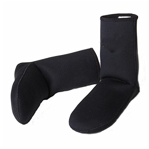 O002 Calcetines de Buceo 3mm Negro XXL