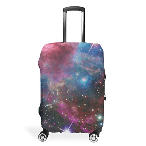 Travel Luggage Case Protector - Space Distinctive 4 Sizes fit Protective Baggage White m (60x81cm)