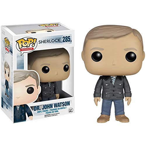 Funko Pop Television : Sherlock - Dr John Watson 3.75inch Vinyl Gift for TV Fans SuperCollection