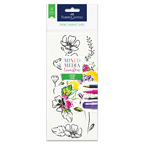 Faber-Castell Mixed Media Transfers - 20 Hand Illustrated...