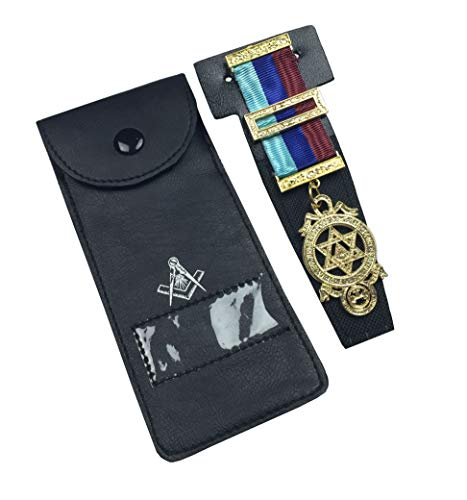 Unbekannt hochwertig Freimaurer Insignien Taschen Juwelen Halter/Packung Freimaurer Trage MC049