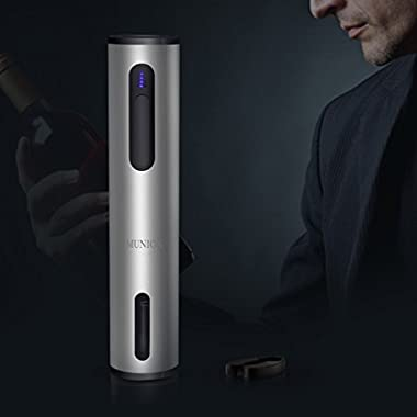 Electric Wine Opener Automatic Corkscrew Wine Opener with Foil Cutter
