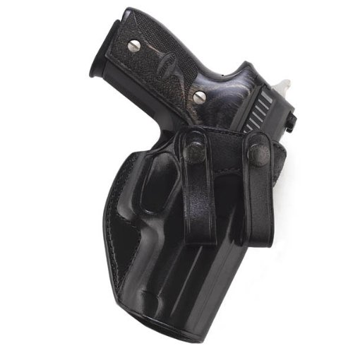 Galco Summer Comfort Inside Pant Holster for 1911 4-Inch, 4 1/4-Inch Colt, Kimber, para, Springfield, Smith (Black, Right-Hand)