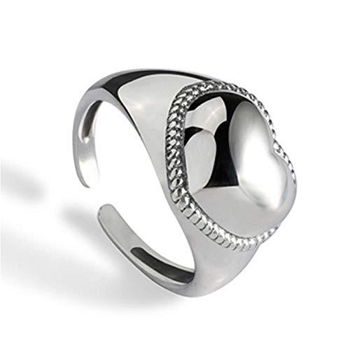onedayday S925 Sterling Silber Ring Frauen Braut Hochzeit Hochzeit Mode Verlobungsring