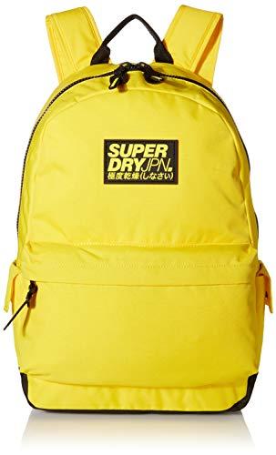 Superdry Men's Classic Montana Backpack, Citrus Yellow, One Size