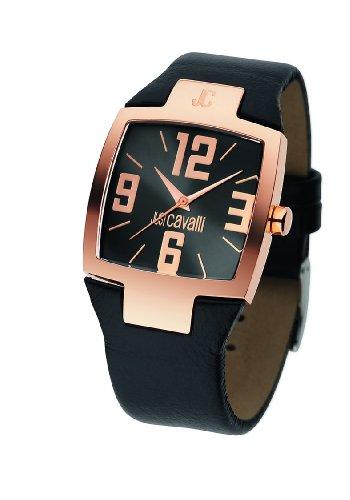 Just Cavalli Lusa Just Time R7251134525 - Reloj Unisex de Cuarzo, Correa de Piel Color marrón