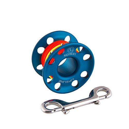 Apeks Spool 45 M Spool 45 M - Life Line spools, Blu, Unica