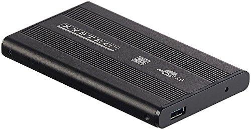 Xystec Gehäuse: Externes USB-3.0-Festplattengehäuse für 2,5