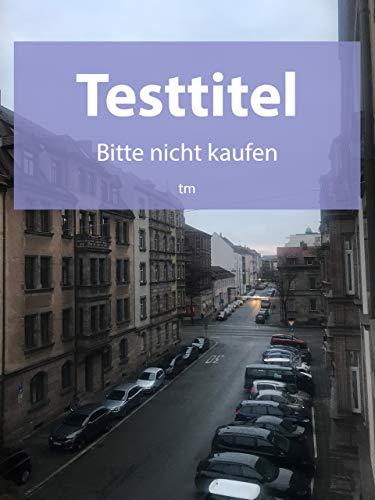 Testtitel - Bitte nicht kaufen