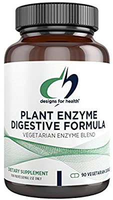 Designs For Health - Plant Enzyme Digestive Formula (90 capsules) from Designs for Health