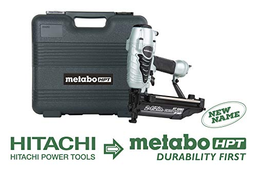 Read About Metabo HPT Finish Nailer, 16 Gauge, Finish Nails – 1-Inch up to 2-1/2-Inch, Integrated Air Duster, 5-Year Warranty (NT65M2S)