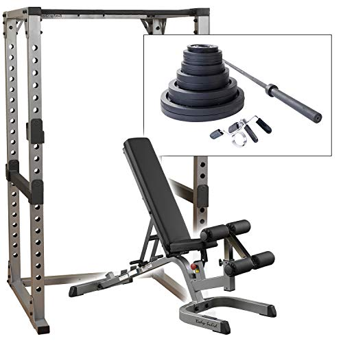 More Reviews on: Body Solid GPR378 Power Rack with GFID71 Bench and 300lb. Weight Set