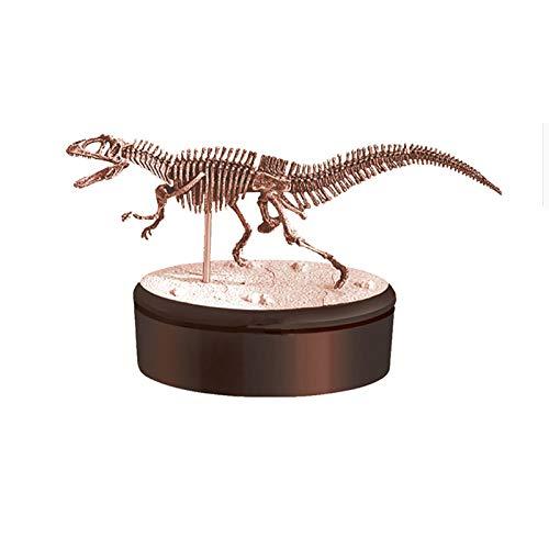 no brand Acrocanthosaurus assemblé Dinosaure Squelette Fossil Puzzle modèle