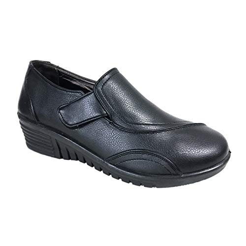Pierre Dumas Karen 28 Non Slip Shoes for Women Comfort Black Work Shoes (6)