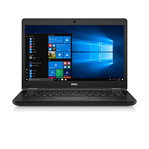 Dell Portátil Latitude 14 5480 | 14.0'' Touch FHD | 16GB DDR4 | 512GB SSD | NVIDIA Ge Force 930MX | Win 10 pro (reacondicionado certificado)