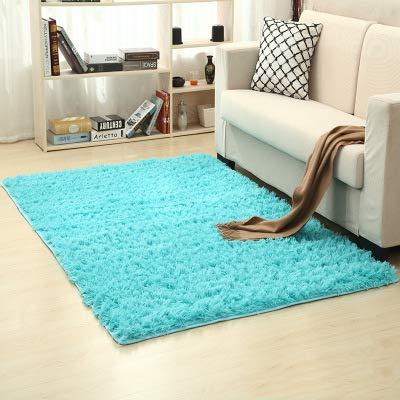DDFGDFSA Solide Teppiche Rosa Teppich Dicker Bad rutschfeste Matte Teppich für Wohnzimmer Weiche Kind Schlafzimmer Matte Zufällige Farbe,1,M