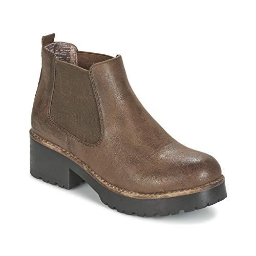 COOLWAY Bruni Botines/Low Boots Mujeres Marrón Botas de caña Baja