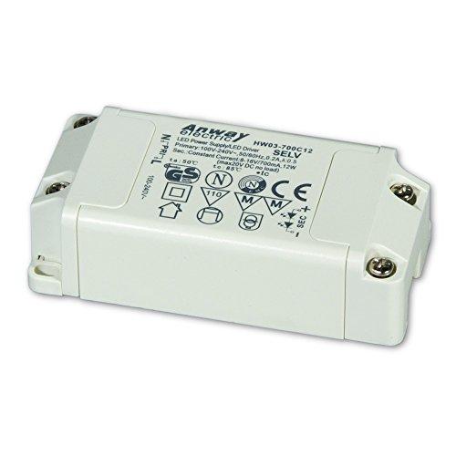 00011758 - ANWAY LED Treiber HW03-700C12 12W/700mA/8-16V