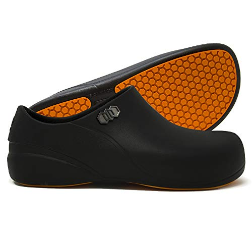 Stico Men's Slip Resistant Chef Clogs