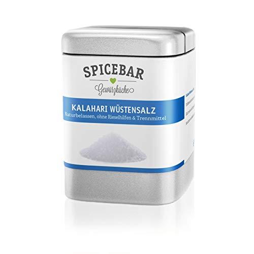 Spicebar - Kalahari Wüstensalz fein , Salz im Streuer (200g)