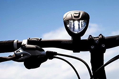 OSRAM LEDsBIKE FX-70, leistungsstarker Scheinwerfer für Radfahrer mit Tagfahrlicht-Funktion, wiederaufladbare LED-Frontleuchte, Beleuchtungsstärke 70 lx, LEDBL101, Faltschachtel (1 Stück) - 4