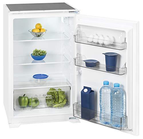 Exquisit Einbaukühlschrank EKS 131-4.2 RVA+ | Einbaugerät 130 L Nutzinhalt | weiß