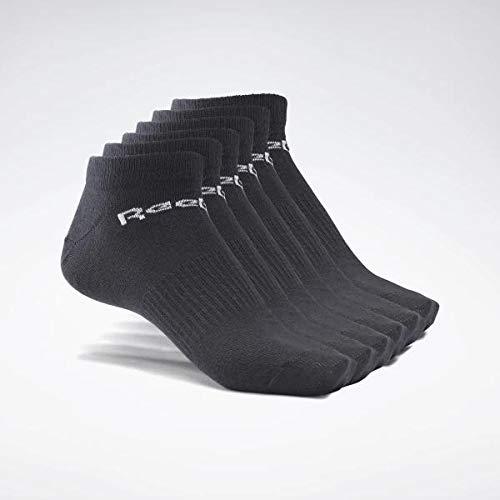 Reebok Act Core Inside Sock 6P Calcetines, Unisex Adulto, Ne