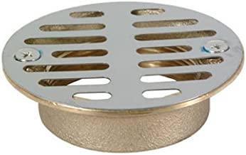 DELTA FAUCET 172-653 Master Plumber 2-Inch Shower Drain Grill