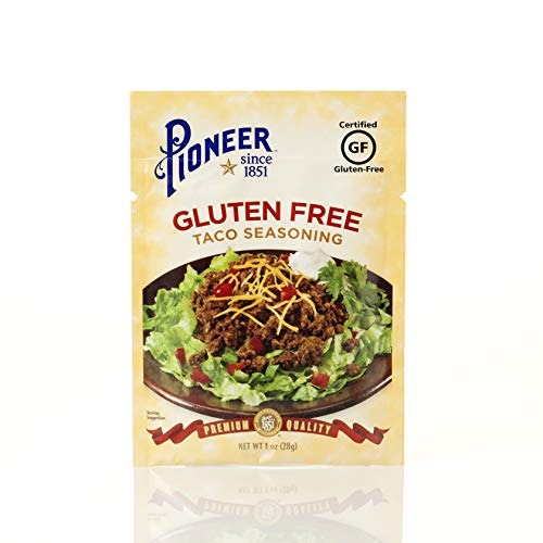 Pioneer Gluten Free Taco Seasoning Mix, 1 Ounce (Pack of 12)
