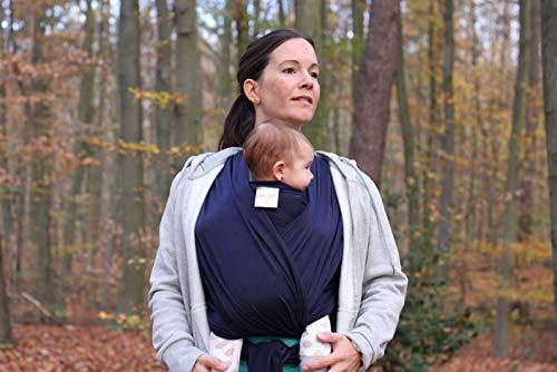 myla Babytragetuch – Elastisches Tragetuch für das erste Lebensjahr - 3