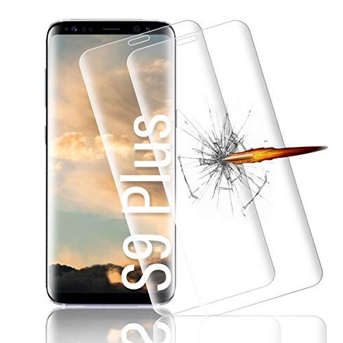 Schutzfolie für Samsung Galaxy S9 plus, 9h Härte Glasfolie, [Anti-Kratze][Anti-Öl]]Panzerglasfolie,3D Vollständigen Abdeckung Displayschutzfolie für Samsung Galaxy S9 plus panzerglas folie