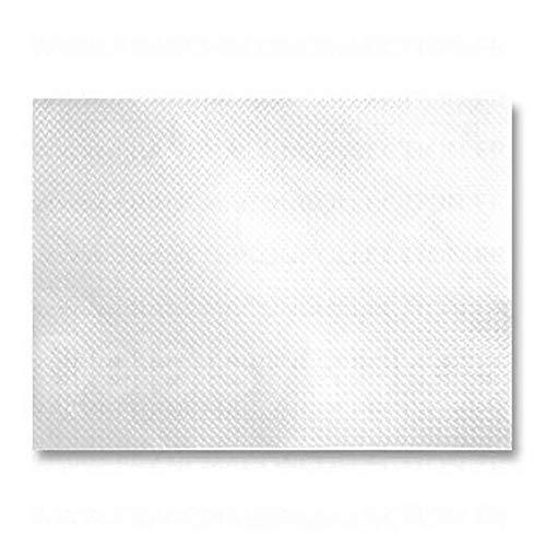 Set de Table jetable | Blanc | Papier Recyclé | 30X40 cm | Déperlant | Lot de 1000 pièces