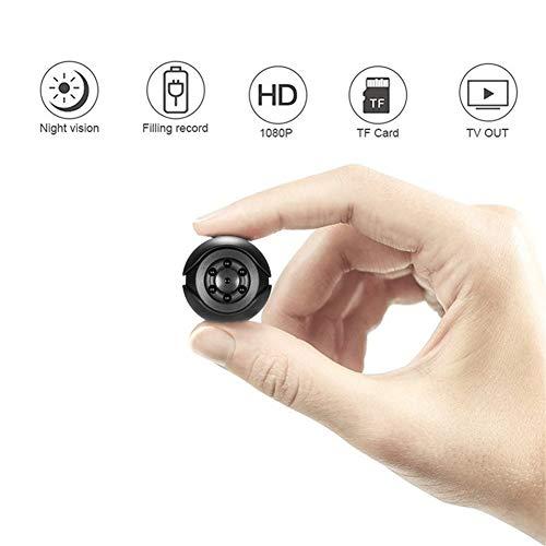 Mini camera 1080p sensor Beweegbare beveiligings-camcorder kleine nokken nachtzicht bewegingsdetectie ondersteuning verborgen TFcard