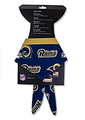 St Louis Rams Bandana for Large Dogs