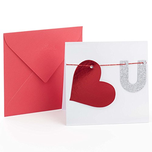 Hallmark Signature Love Card, Heart U (Anniversary Card)