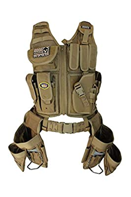 Special Operations Tool Gear Weekend Warrior (Finish Carpenter) Tactical Tool Vest from Special Operations Tool Gear