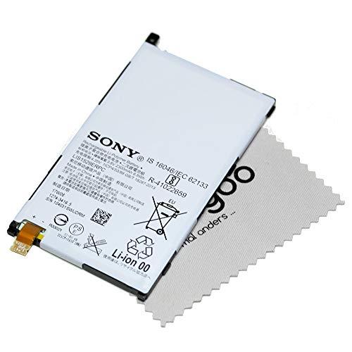 Original batería Accu battery de batería para Sony Xperia Z1Compact–2300mAh–(Lis1529Erpc) + Gratis mungoo® Pantalla paño de limpieza