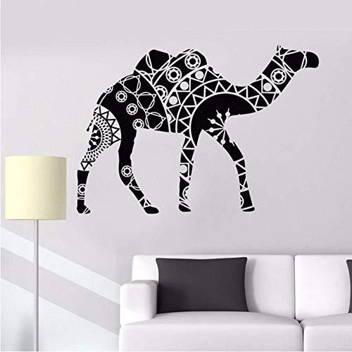 Adesivo Murale Rimovibile 58 * 83Cm Per Pareti In Vinile Con Motivo A Cammello