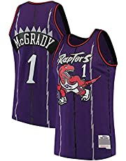 NBA-jersey, Toronto Raptors #1 Mouwloze Basketbaltrui Retro Comfortabel Lichtgewicht Ademend Sneldrogend Fantrui