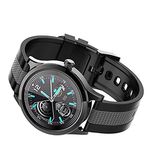 XINGBAO Reloj Inteligente Que controla la frecuencia cardíaca Cinta de Dos Colores para Evitar el Agua fría Cinturón Gris Negro
