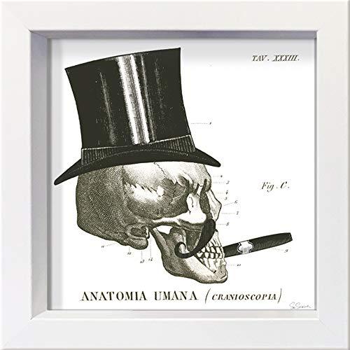 International Graphics - Postal enmarcada - Sue, Schlabach - ''Dandy Bones III''-...
