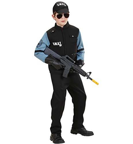 WIDMANN Widman - Disfraz de SWAT infantil, talla 10 años (76547)