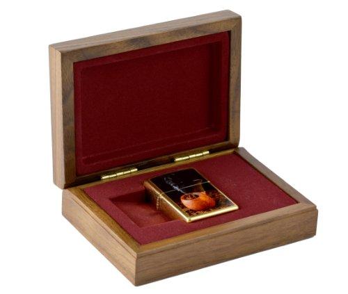 Zippo Accendino per pipa Lighter limitata 001/250in un cofanetto regalo in legno/lusso