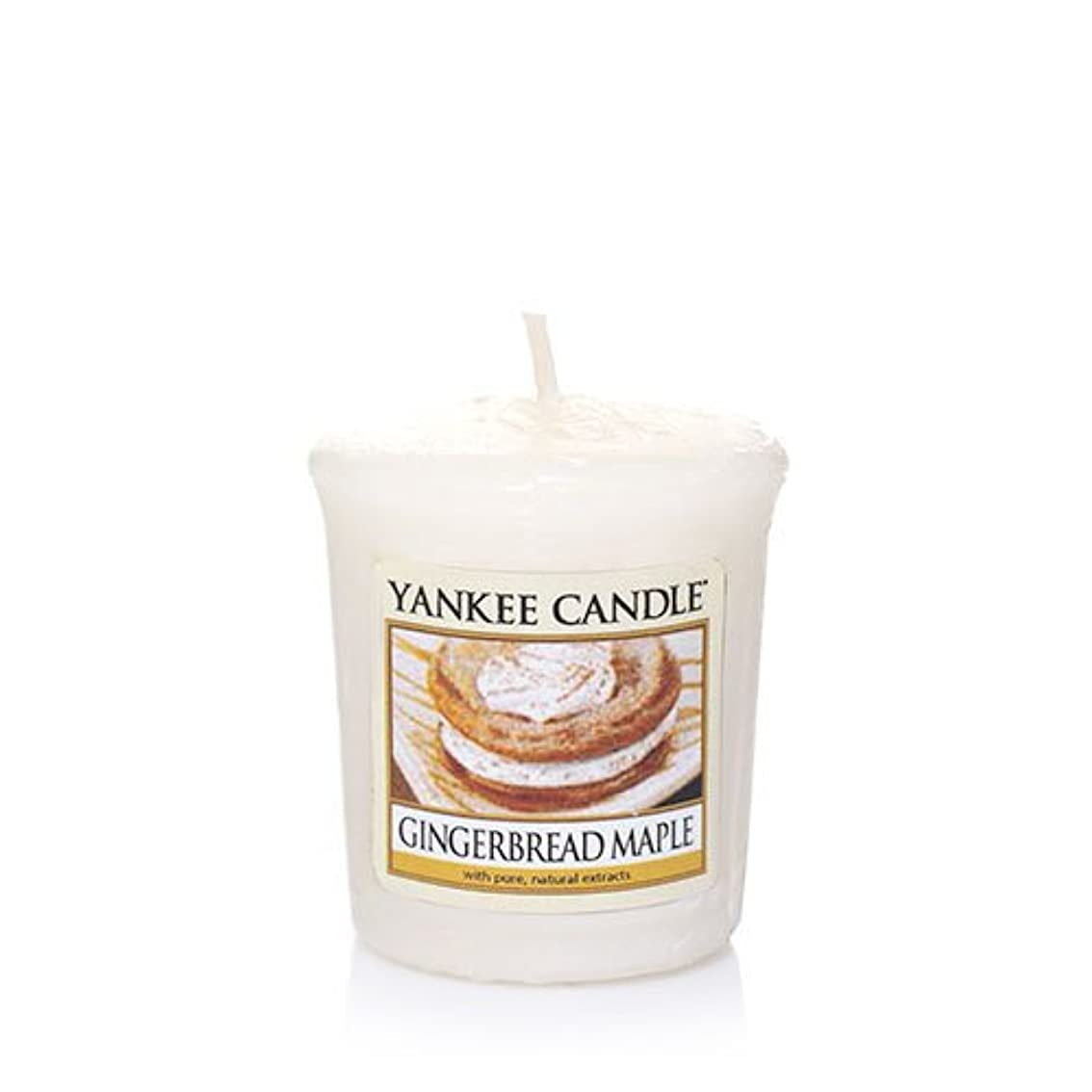 割る弱点友情Yankee Candle Gingerbread Maple Samplers Votive Candle、Festive香り