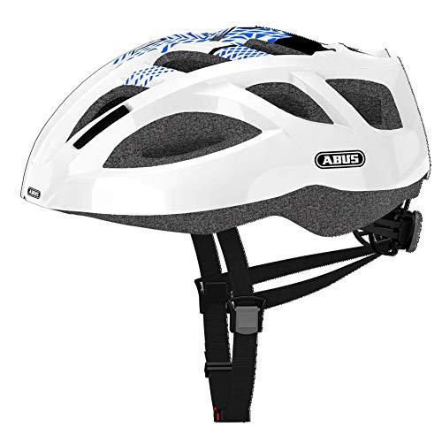 Abus Ambition Shiny - Casco para bicicleta unisex, color azul