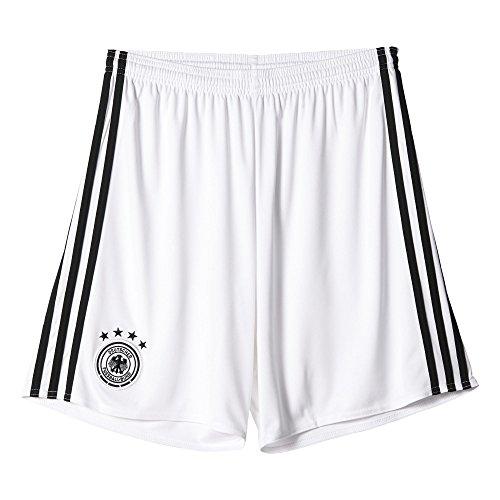 adidas Herren UEFA Euro 2016 DFB Torwart-Heimshorts Replica Shorts, White/Black, S