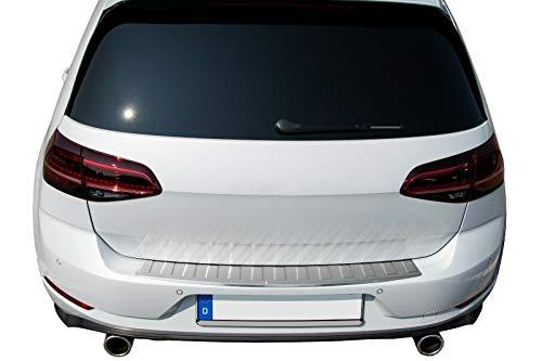 Recambo CT-LKS-2280 LADEKANTENSCHUTZ Edelstahl MATT für VW Golf 7 VII - SCHRÄGHECK - MIT ABKANTUNG, Large